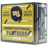 2016 Panini Pittsburgh Collegiate Multi-Sport 24-Pack Box