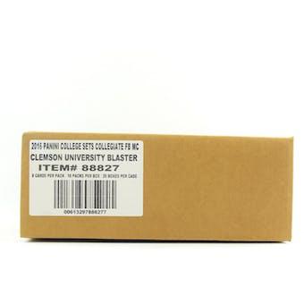 2016 Panini Clemson Collegiate Multi-Sport Blaster 20-Box Case