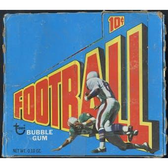 1972 Topps Football 1st Series Wax Box