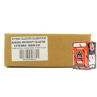 2016 Panini Auburn Tigers Multi-Sport Blaster 20-Box Case