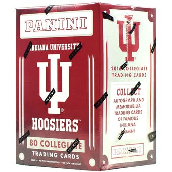 2016 Panini Indiana Hoosiers Multi-Sport Blaster Box
