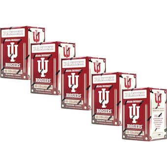 2016 Panini Indiana Hoosiers Multi-Sport Blaster Box (Lot of 5)