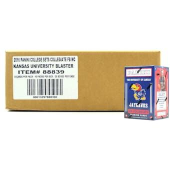 2016 Panini Kansas Jayhawks Multi-Sport Blaster 20-Box Case