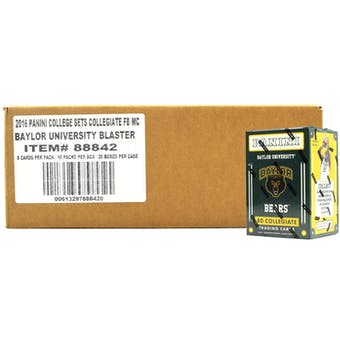 2016 Panini Baylor Bears Multi-Sport Blaster 20-Box Case