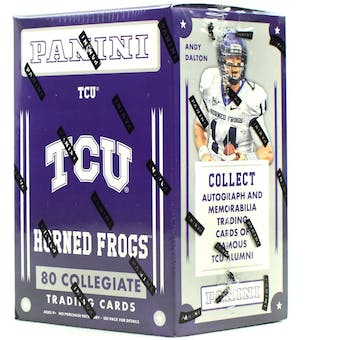 2016 Panini TCU Horned Frogs Multi-Sport Blaster Box