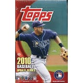 2010 Topps Update Baseball Hobby Box