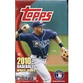 2010 Topps Update Baseball Hobby Box