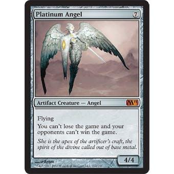 Magic the Gathering 2011 Single Platinum Angel Foil