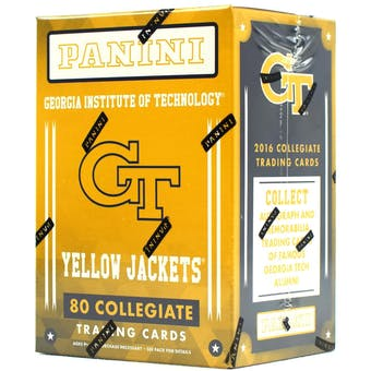 2016 Panini Georgia Tech Collegiate Multi-Sport Blaster Box