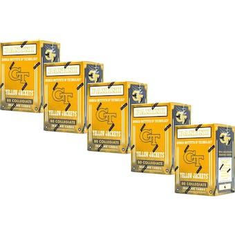 2016 Panini Georgia Tech Yellow Jackets Multi-Sport Blaster Box (Lot of 5)