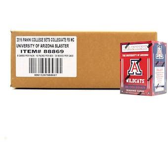 2015 Panini Arizona Wildcats Multi-Sport Blaster 20-Box Case