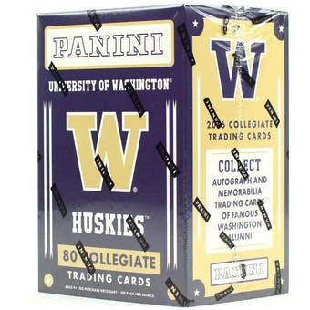 2016 Panini Washington Huskies Multi-Sport Blaster Box