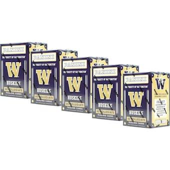 2016 Panini Washington Huskies Multi-Sport Blaster Box (Lot of 5)
