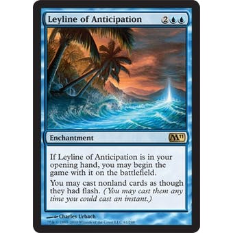 Magic the Gathering 2011 Single Leyline of Anticipation Foil
