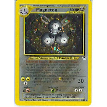 Pokemon Neo Revelations Single Magneton 10/64