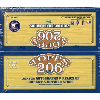 2010 Topps T-206 Baseball 24-Pack Box