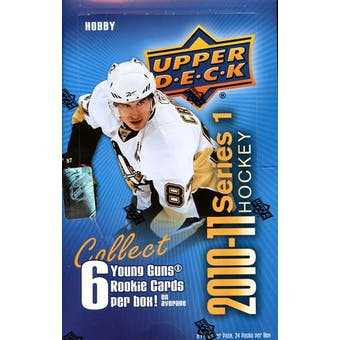2010/11 Upper Deck Series 1 Hockey Hobby Box
