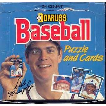 1988 Donruss Baseball Cello 12-Box Case