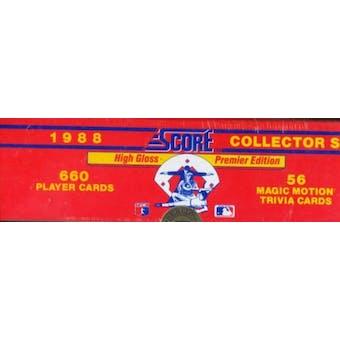 1988 Score Glossy Baseball Factory Set