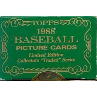1988 Topps Tiffany Traded & Rookies Baseball Factory Set