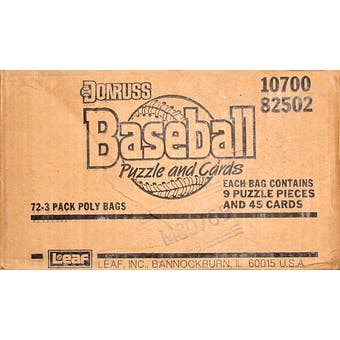1988 Donruss Baseball Rack Case (Not Factory Sealed)