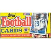 1988 Topps Football Factory Set (Christmas Box)