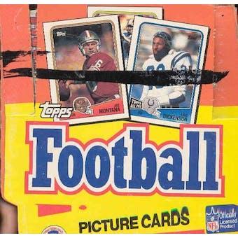 1988 Topps Football Jumbo Box