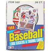1988 Fleer Baseball Wax Box (Reed Buy)