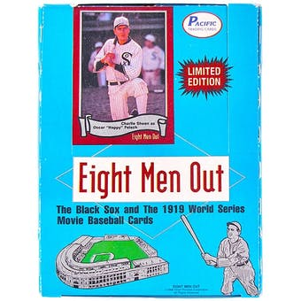 1988 Pacific Eight Men Out Baseball Wax Box (Reed Buy)