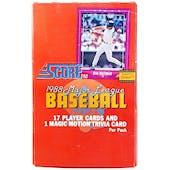 1988 Score Baseball Wax Box (Reed Buy)