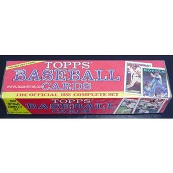 1988 Topps Baseball Factory Set (Christmas Set)
