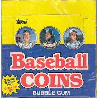 1988 Topps Coins Baseball Wax Box