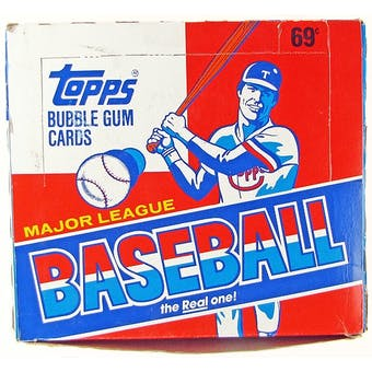 1988 Topps Baseball Cello Box (Reed Buy)