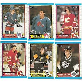 1989/90 O-Pee-Chee Hockey Complete Set (NM-MT)