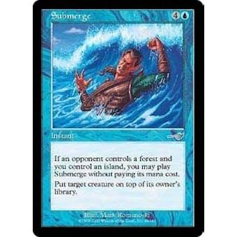 Magic the Gathering Nemesis Single Submerge Foil - NEAR MINT (NM)
