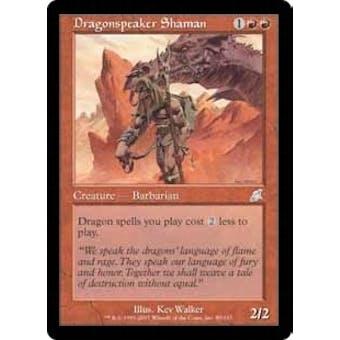 Magic the Gathering Scourge Single Dragonspeaker Shaman Foil