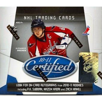 2010/11 Panini Certified Hockey Hobby Box