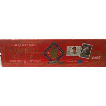 1992 Donruss Baseball Coca Cola Factory Set