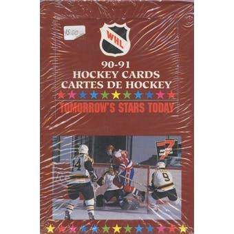 1990/91 7th Inning Sketch WHL Hockey Wax Box