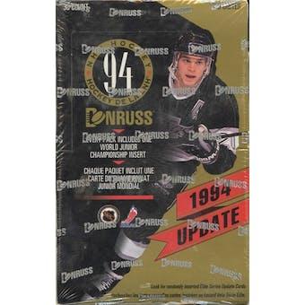 1994/95 Donruss Update Hockey Hobby Box