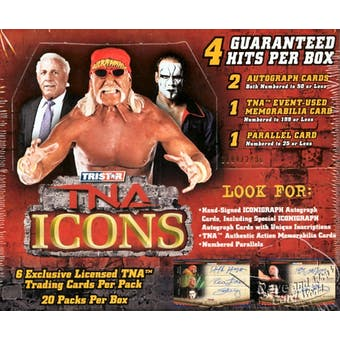 2010 Tristar TNA Icons Wrestling Hobby Box