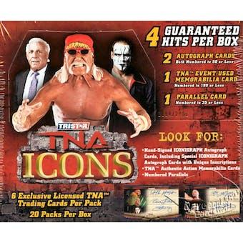 2010 Tristar TNA Icons Wrestling Hobby Box