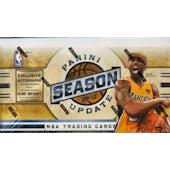 2009/10 Panini Season Update Basketball Hobby Box