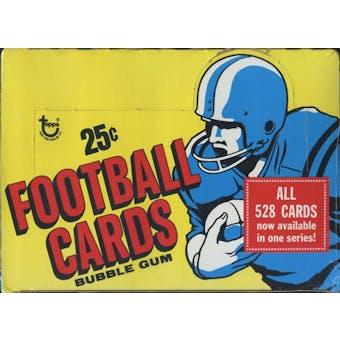 1977 Topps Football Cello Box