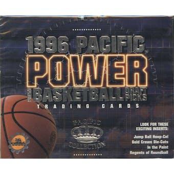 1996/97 Pacific Power Prism Draft Picks Basketball Hobby Box