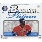 2010 Bowman Platinum Baseball Hobby Box (Reed Buy)