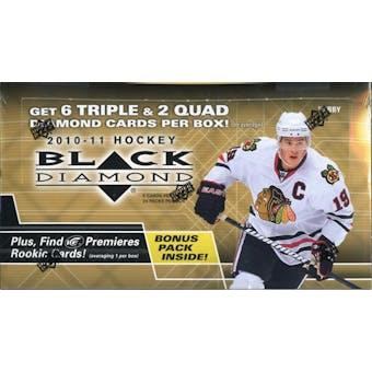 2010/11 Upper Deck Black Diamond Hockey Hobby Box