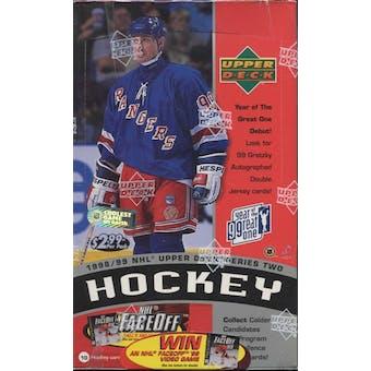 1998/99 Upper Deck Series 2 Hockey Retail Box