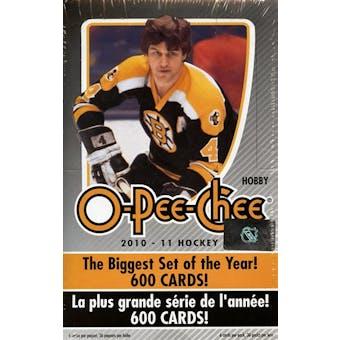 2010/11 Upper Deck O-Pee-Chee Hockey Hobby Box