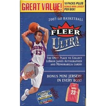 2007/08 Fleer Ultra Basketball 10-Pack Box
